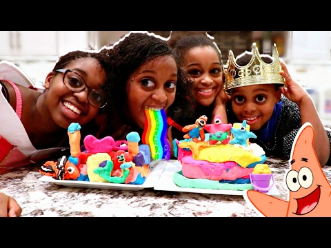 Thumbnail: PLAY DOH CASTLE BUILDING COMPETITION! - TOY GAME CHALLENGE - Onyx Adventures