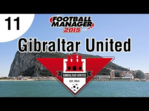 Football Manager 2015 | Gibraltar United FC | Part 11 - Big Title Match