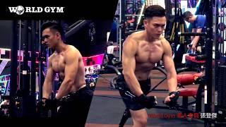 時尚DM男主角張登傑 | 形象照側拍影片 |World Gym Taiwan
