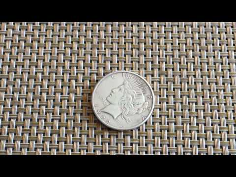 "1922 PEACE EDITION SILVER DOLLAR (FEAT. ON ""PAWN STARS"")"