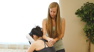 Ultra Relaxing Chair Massage with Meera | Neck Pain, Hands & Wrists Tutorial