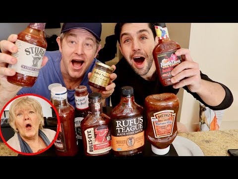 MOM'S SECRET HOMEMADE BARBECUE SAUCE RECIPE VS. STORE BOUGHT!!