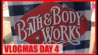 VLOGMAS DAY 4-  BATH & BODY WORK HAUL | Brittany Daniel