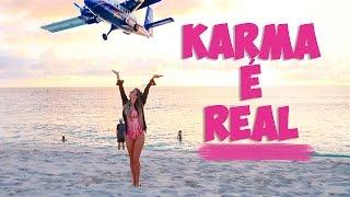 KARMA É REAL! | Vlog | St. Maarten