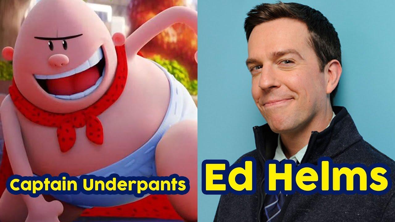 Captain Underpants The First Epic Movie Cast Voice Actors Las