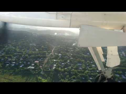 【20171224】PX857 Landing at Port Moresby Int'l Airport【PNG】