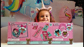 LOL Surprise - 3 Pieces GAMES Set - PUZZLE, JUMBO CARDS, DOMINOES