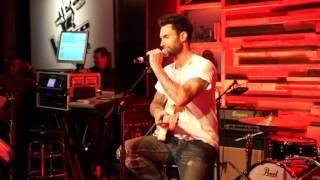 Adam Levine Sings R  Kelly & Maroon 5 LIVE at Hyde in Hollywood Dec  2014
