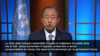The United Nations Secretary-General Message on World Environment Day, 5 June 2015