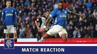 REACTION | Jermain Defoe | Rangers 4-0 St Mirren