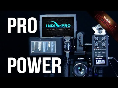 Pro Power Options for Filmmakers ft. IndiPro Tools
