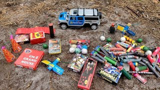 🧨BIG FIRECRACKERS + TOYS🚘💣💥BIG FIRECRACKERS vs CAR🚗