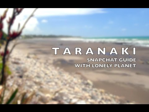 Taranaki Video Guide - Snapchat from this #BestInTravel destination