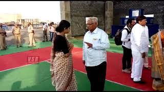 రామ్ పూర్ ప్రాజెక్టు దగ్గర ఐఎఎస్ అధికారి స్మితా సబర్వాల్\Ias Officers Smitha Sabarwal