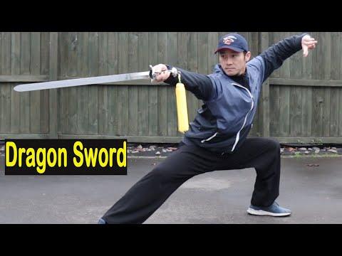 Shaolin Kung Fu Wushu Straight/Dragon Sword Session 1