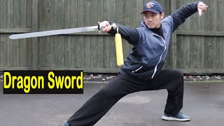 Shaolin Kung Fu Wushu Straight/Dragon Sword Session 1
