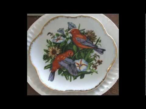 Collector's Plates Fine Porcelain Decorative Art China makers