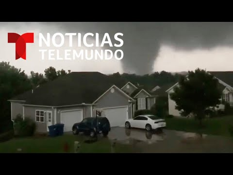 Destrucción tras potente sistema de tormentas y tornados en Missouri | Noticias Telemundo