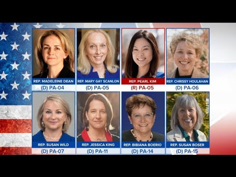 Women win big in Pennsylvania primary elections