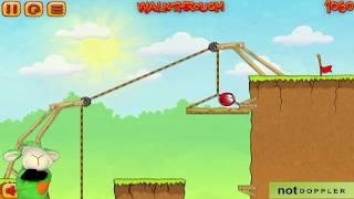 Игровой мультик - Красный Шар. Red Ball 3 Шарляндия #2 Поиски любимой Страшное подземелье. Для детей