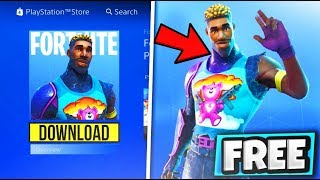 "DOWNLOAD ""Brite Gunner"" For FREE NOW! in Fortnite Battle Royale - NEW SKIN UPDATE Brite bag"