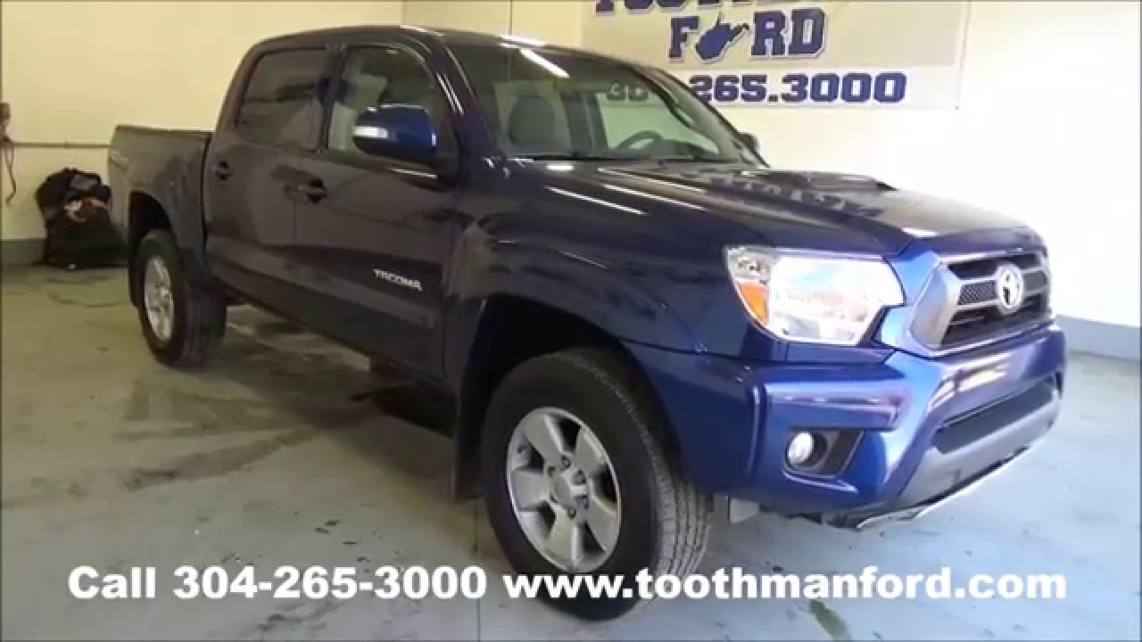 used toyota tacoma sport for sale morgantown wv toothman ford 304 265 3000 youtube. Black Bedroom Furniture Sets. Home Design Ideas