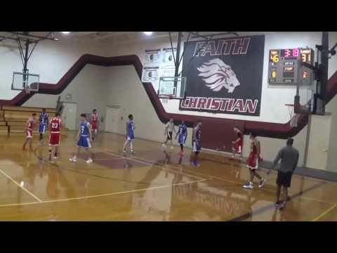 Turkay Barutcuoglu vs Clearwater Academy ..Red Jersey#40 Full Game Tape