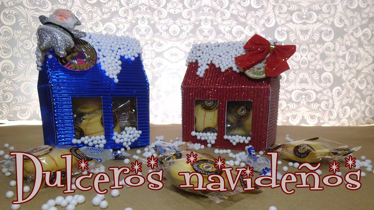 Dulceros navide os para regalar candy bu youtube - Cosas originales para navidad ...