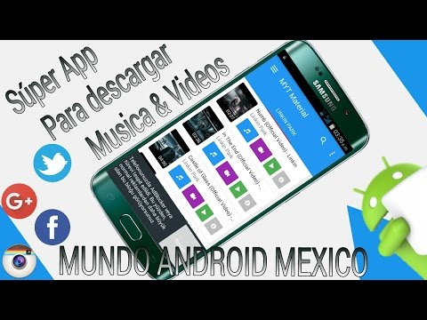 Nueva App Para Descargar Musica & Videos En Segundos //MUNDO ANDROID 2016