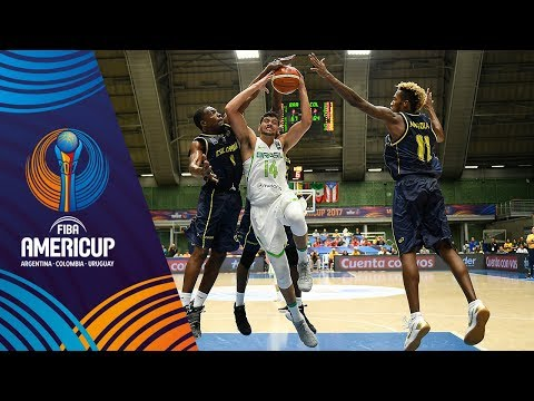 Brazil vs Colombia - Highlights - Group A - FIBA AmeriCup 2017