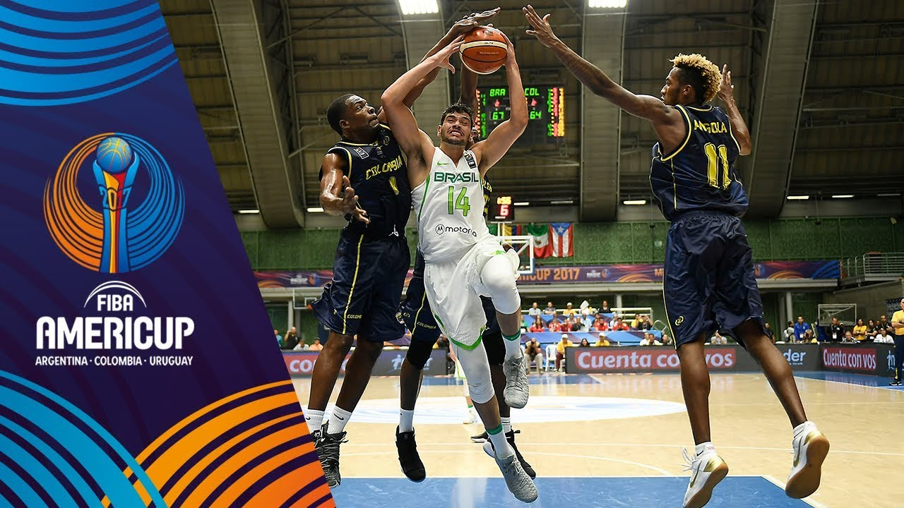 5f382692f0d Brazil vs Colombia - Highlights - Group A - FIBA AmeriCup 2017 - YouTube