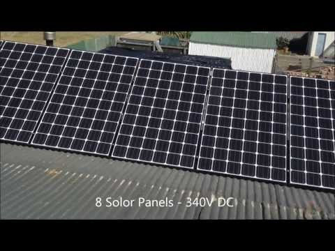 Welding with Solar Panels