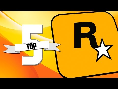 TOP 5 - JOGOS DA ROCKSTAR GAMES