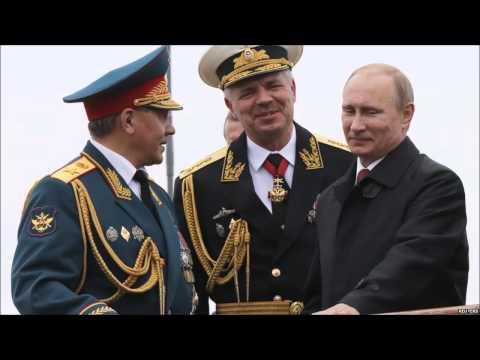 Robert Service on Putin in Crimea, BBC 9May14
