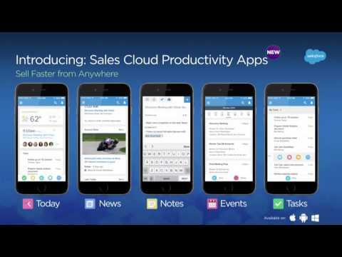 Sales Cloud Keynote  Grow Sales Faster