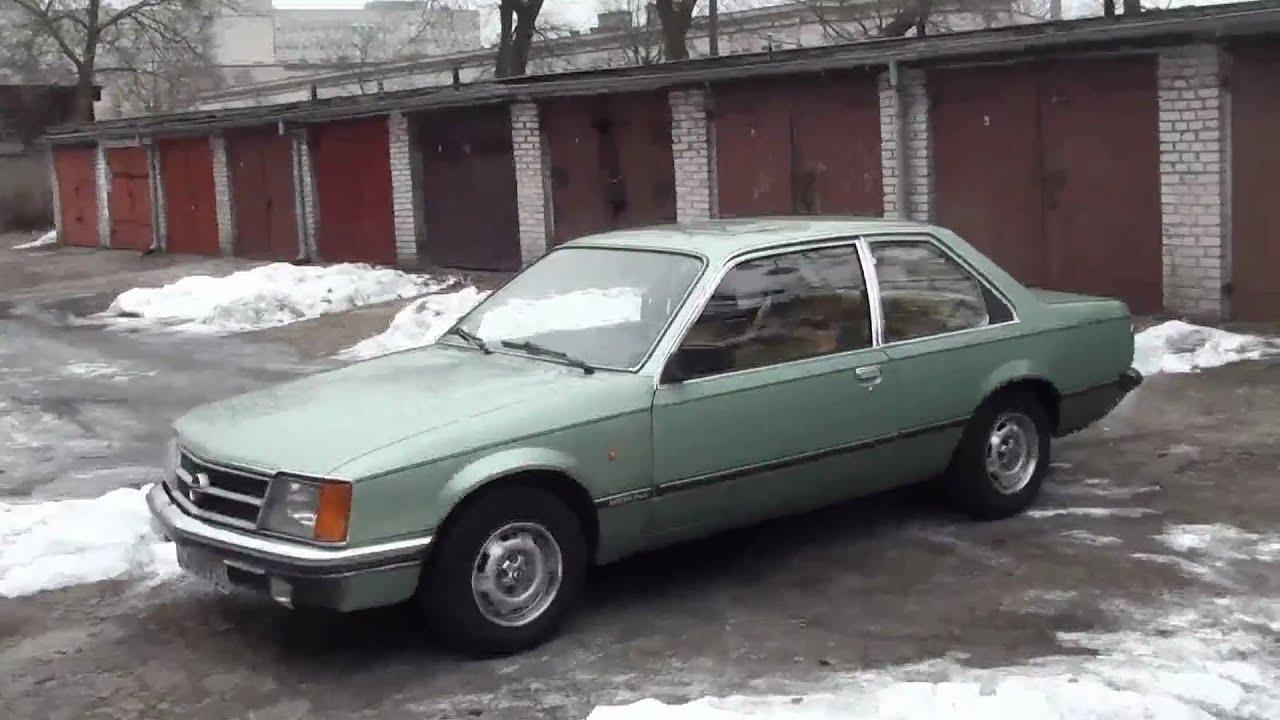 opel commodore c berlina 1979 2.5i automatic 3-doors - youtube