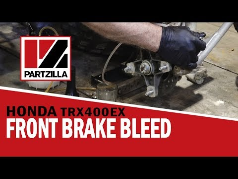 How to Bleed ATV Front Brakes Manually and with Vacuum Pump | Partzilla.com