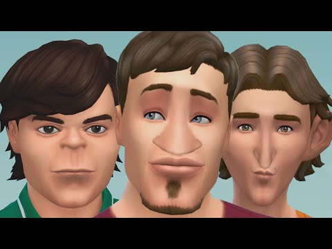 WE TURNED INTO SIMS! (Sims 4)