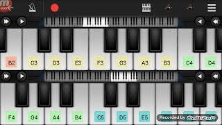 موزارت سمفونية 40 على بيانو هاتفSamphony 40 Mozart play piano phone