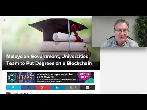 Malaysia to Put University Degrees on Blockchain
