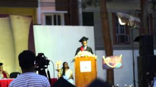Speech of Mr. Hope Espoir KABANGA, on graduation day (CMRIMS)