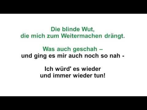 Udo Jurgens Ich Wurd Es Wieder Tun KARAOKE