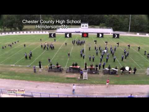 Chester County Band at Competition in Huntingdon 1OCT2016