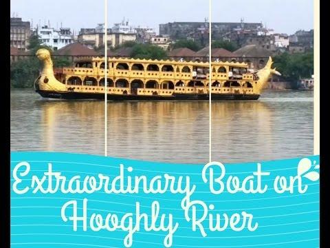 Extraordinary Boat on Hooghly River, Kolkata, INDIA