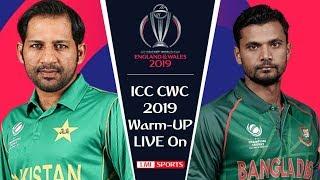 ptv sports live streaming Pakistan vs Bangladesh warm up Match ICC World Cup 2019 Live streaming
