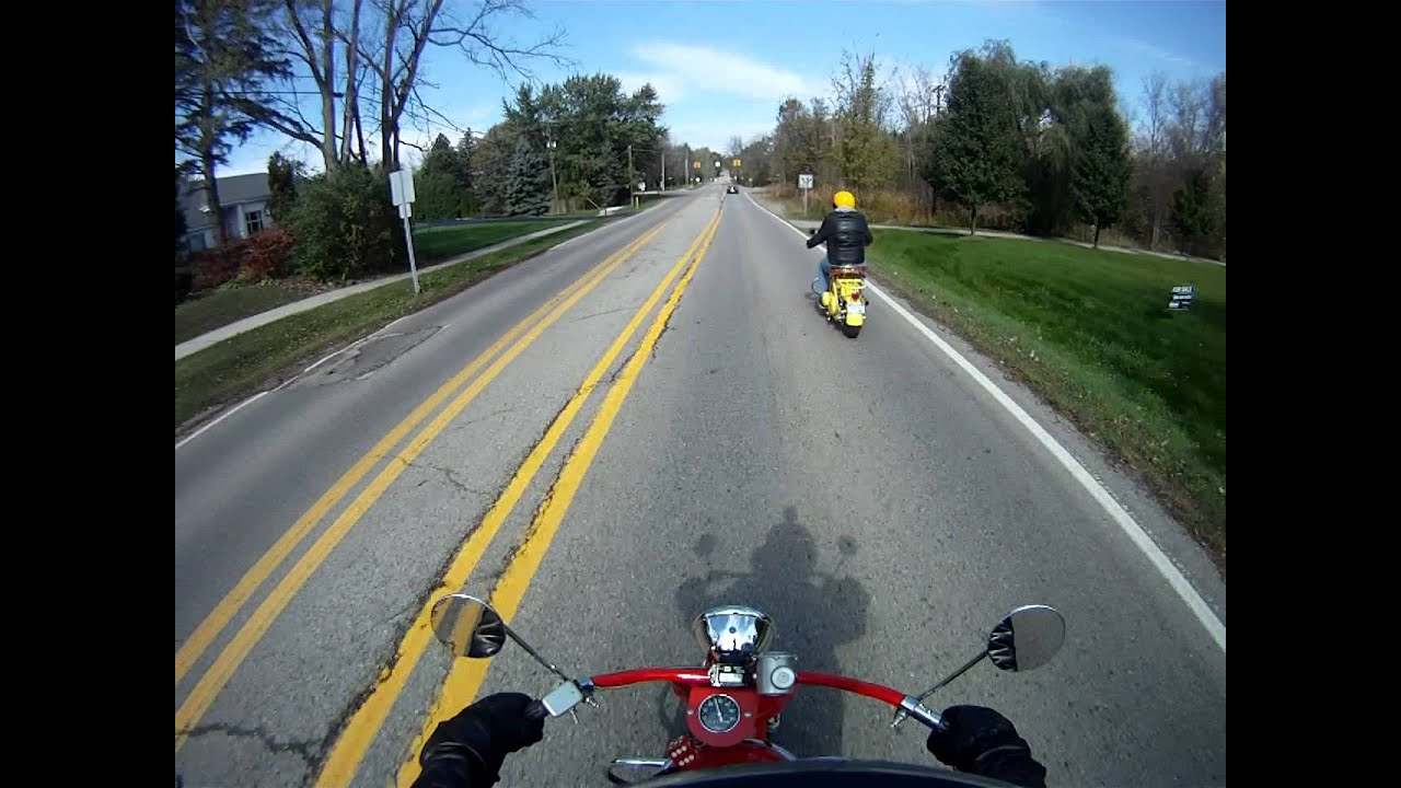 Cushman Motor Scooters Cider Mill Ride Youtube
