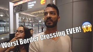 Trouble at the Malaysian Border! Almost Lost All of Our Stuff going to Singapore!