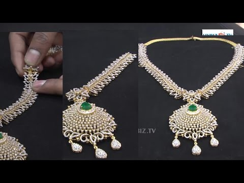 Detachable Gold Diamonds Long Haram | Malabar Gold and Diamonds