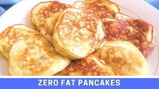 Recipe for Zero Fat Banana Pancakes