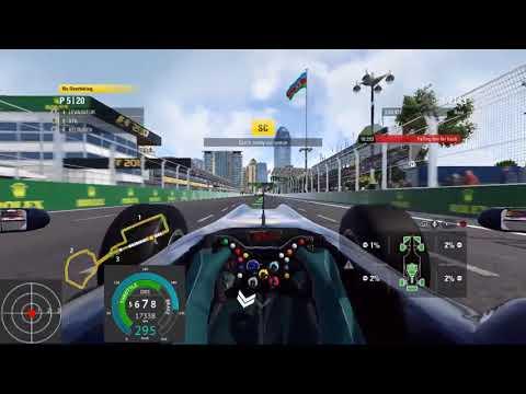 [F1 2017] Azerbaijan - Baku City Circuit 25% Race (Personal Challenge)